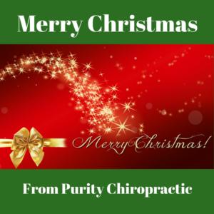 Merry Christmas - Purity Chiropractic - Peregian Beach