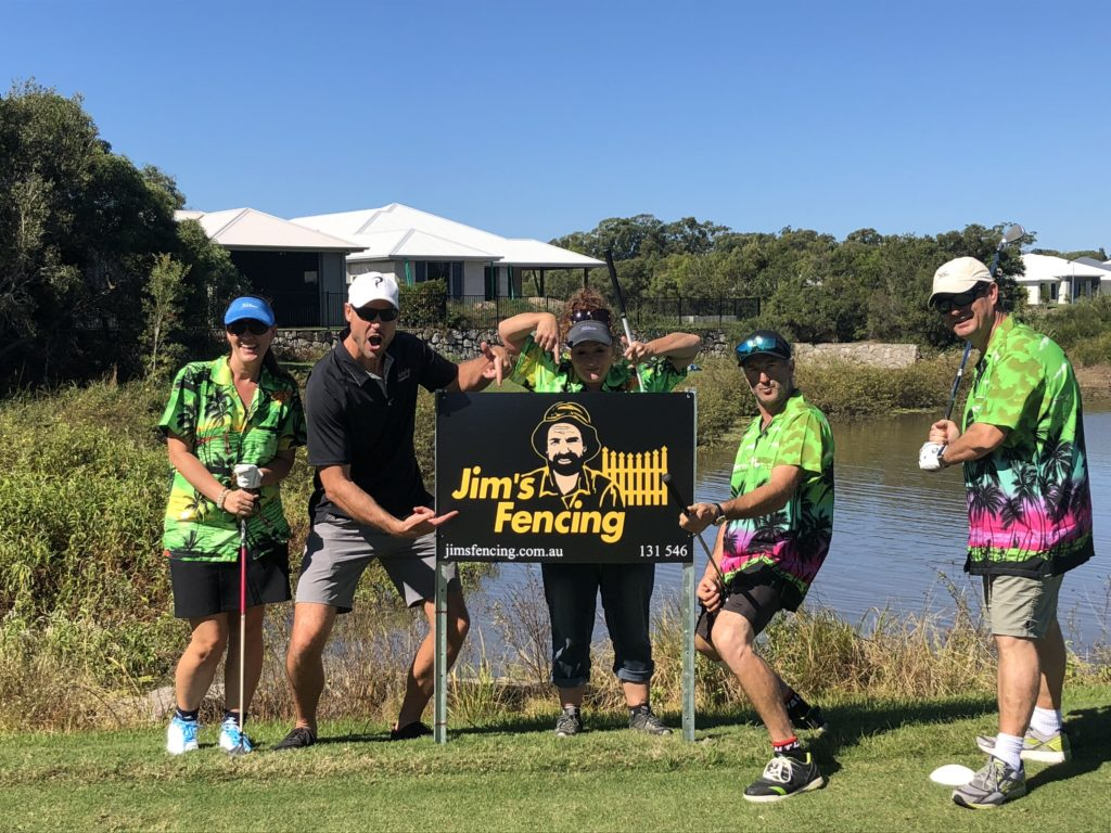Jim's Fencing - Purity Chiropractic Charity Golf Day - Peregian Beach