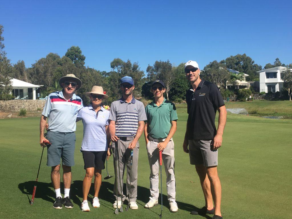 winners of Purity Chiropractic Charity Golf Day - Purity Chiropractic - Peregian Beach