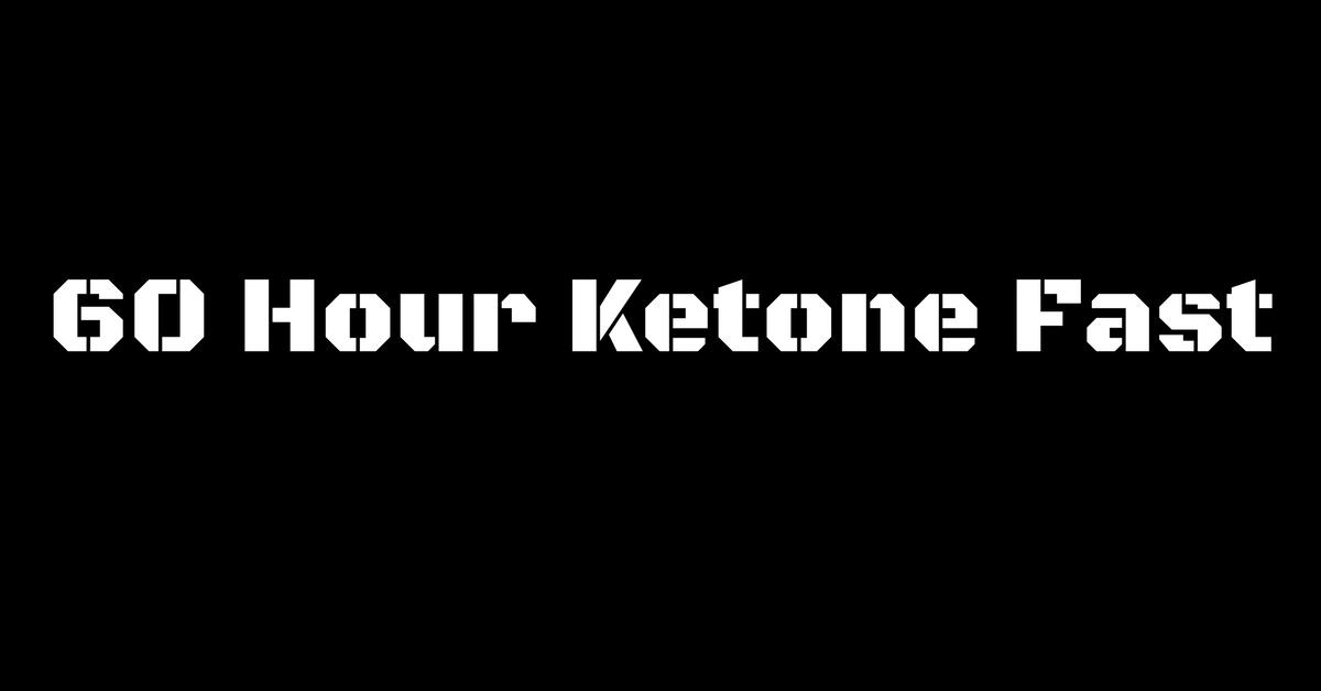 60 Hour Ketone Fast - Purity Chiropractic, Peregian Beach
