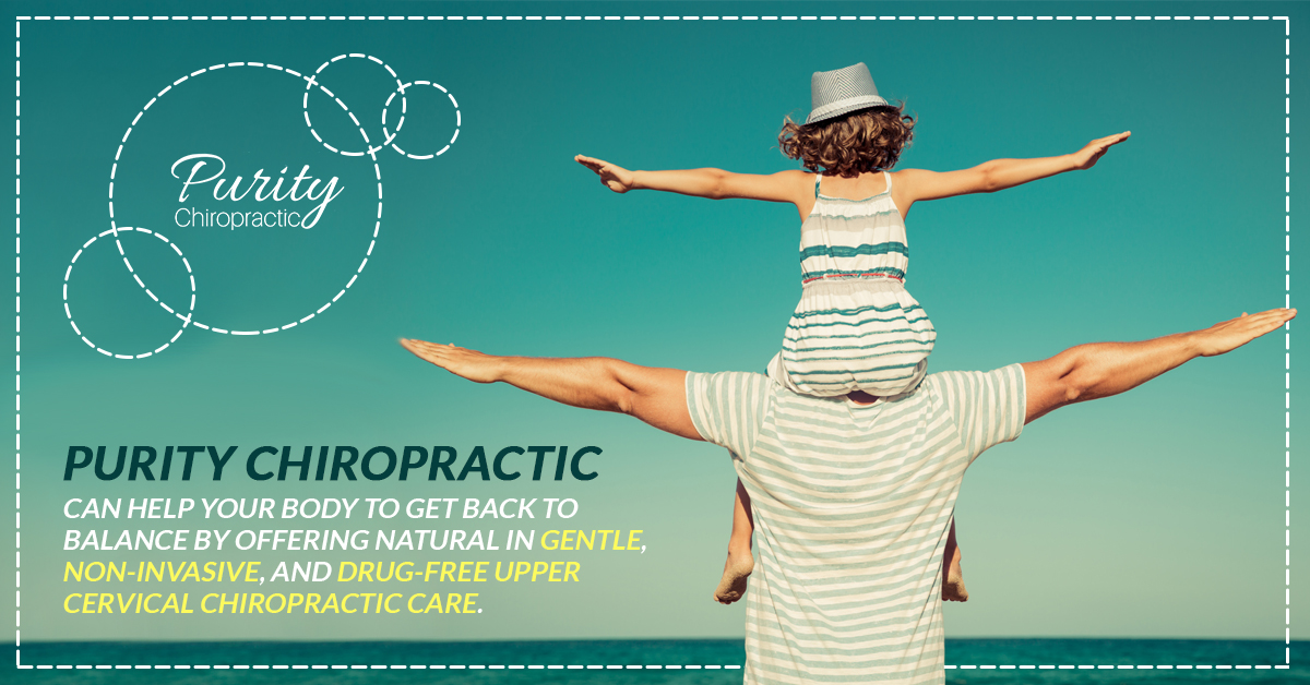 Purity Chiropractic can help your body to get back to balance by offering natural in gentle, non-invasive, and drug-free upper cervical chiropractic care.